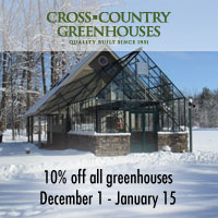 Huge Greenhouse Sale at Backyard Greenhouses