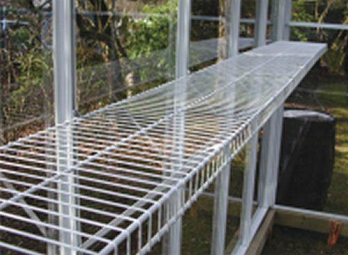 Greenhouse Supplies Greenhouse Shelf Wire Shelf For
