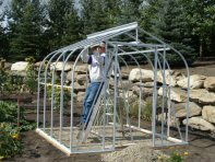 Customer Builds Sun Garden Frame